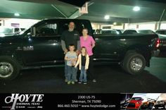 Congratulations Tiffany & Blaine on your #Ram #3500 from Paul Peters at Hoyte Dodge RAM Chrysler Jeep!  https://deliverymaxx.com/DealerReviews.aspx?DealerCode=R491  #HoyteDodgeRAMChryslerJeep