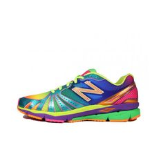 New Balance 890 Rainbow Shoes | TheShoeGame.com - Sneakers & Information found on Polyvore