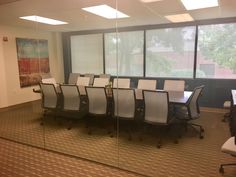 Aesync in the conference room, designed by Inside Design, DC