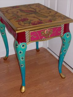 Anglo Indian Octagonal Tabouret Side Table With Bone Inlay Tables Modern And Folding Tables