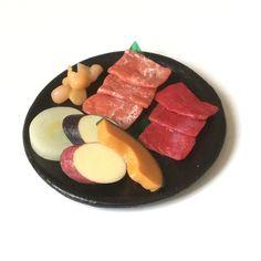 『今日は焼肉♪』●お肉と野菜の盛り合わせ●ミニチュアフード