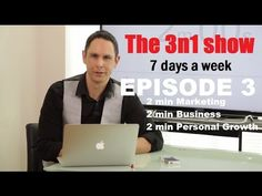 Shane Jeremy James talks about video marketing, raising your self-esteem, 3 small business apps.