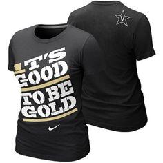 Nike Vanderbilt Commodores Women's It's Good To Be Gold Local T-Shirt - Black