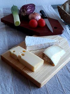 Ash and jatoba kitchen wood. Tablas cocina de Fresno y Jatoba Kitchen Wood, Ash, Cheese, Food, Meal, Essen, Hoods, Meals, Eten