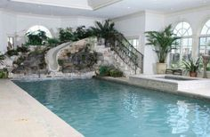 Our indoor pool