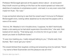 Charlie Weasley and Newt Scamander part 3/3
