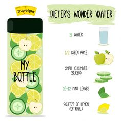 Fruit infused lemon water for hydration, to support weight loss, and clear skin. Fruits like lemon, strawberry, and cucumber blend with water for a delicious natural detox drink. Healthy Water, Healthy Detox, Healthy Smoothies, Healthy Drinks, Easy Detox, Healthy Food, Infused Water Recipes, Fruit Infused Water, Water Detox Recipes