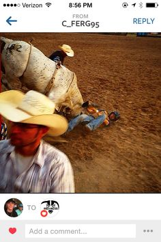 "Stock contractors be like, ""He ain't hooky."" Hooked, bull riding, cowboy problems  Follow Rodeo Wrecks on Facebook at http://facebook.com/RodeoWrecks"