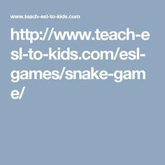 http://www.teach-esl-to-kids.com/esl-games/snake-game/