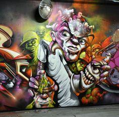 Nash graffiti art