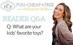 Kids favorite toys