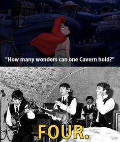 ahaha i find this funny. The Cavern Club