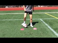 Love the Beast Mode Soccer 2 cone drill variations so I came up with my own! Try this and be creative to make up your own soccer footwork dribbling patterns . Soccer Workouts, Soccer Tips, Youth Soccer, Play Soccer, Soccer Stuff, Soccer Coaching, Soccer Training, Beast Mode Soccer, Cone Drills