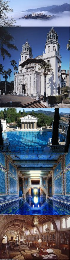 Hearst Castle in California (BTDT)  Most amazing place ever