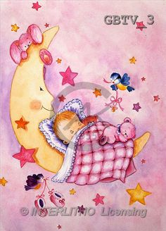 BABIES, paintings(GBTV3,#B#) bébé, illustrations, pinturas