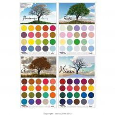 Nuancier 4 saisons Hourglass Body Shape, Image Mode, Color Me Beautiful, Warm Autumn, Soft Summer, African Beauty, Fashion Colours, Carnations, Four Seasons