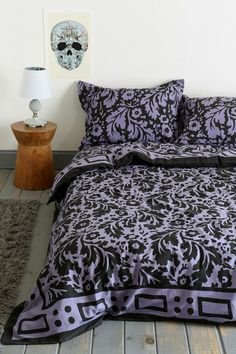 Magical Thinking Floral Block Duvet Cover #urbanoutfitters