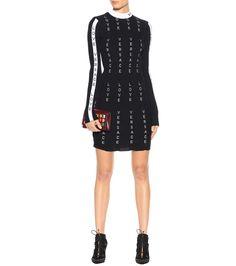 Versace - Wool-blend dress | mytheresa.com