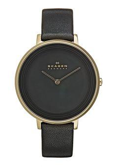 Skagen DITTE - Zegarek - black za 669 zł (24.11.16) zamów bezpłatnie na Zalando.pl.