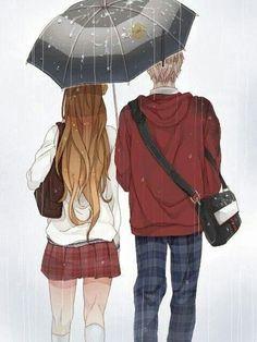 Anime Couple so kawaii Manga Couples, Couple Manga, Anime Love Couple, Cute Anime Couples, I Love Anime, Couple Art, Cosplay Anime, Manga Anime, Manga Art