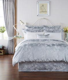 Tesco Ornate Birdcage Duvet Set Kingsize Grey Stuff for the Home