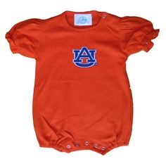 Auburn Girls' Romper... so cute for any little auburn fan!
