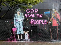 God Save... Mr Brainwash, London
