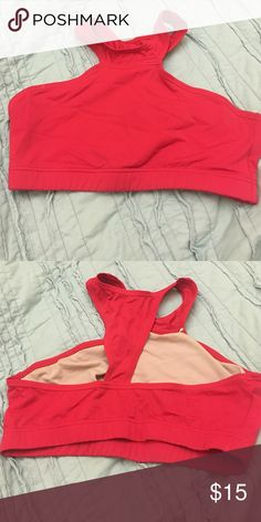 Red Sports Bra - Large Child (fits like a small) Red Sports Bra - Dancewear solutions! Fits like a small adult. Balera Tops Crop Tops