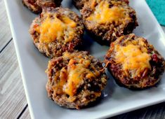 Keto Friendly Bacon Cheeseburger Mini Meatloaf!!! - Low Recipe