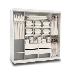 placard ropero premium 2mt melamina aluminio factory muebles