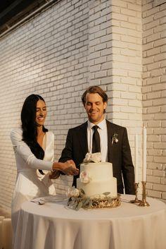 Stacy + Kyle Timeless Urban Wedding - Meghan Beatty Photography Lds Temples, Timeless Wedding, Utah, Wedding Reception, Cake, Photography, Pastel, Photograph, Wedding Reception Venues