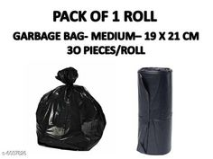 Checkout this latest Garbage Bags & Holder Product Name: *strong capacity medium size garbage bag pack of 1  * Product Name: strong capacity medium size garbage bag pack of 1   Brand Name: Not Branded Material: Low-Density Polyethylene Capacity: 0.5 L Type: Garbage Bags Biodegradable: No Number Of Bags In A Pack: 30 Pack: Pack Of 1 Product Length: 0.5 cm Product Breadth: 0.5 cm Product Height: 0.5 cm Country of Origin: India Easy Returns Available In Case Of Any Issue   Catalog Rating: ★4.1 (561)  Catalog Name: Garbage Disposal Bags Vol 1 CatalogID_915904 C89-SC1863 Code: 54-6037826-531