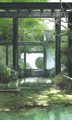 The Effective Pictures We Offer You About Architecture background laptop A quality picture can tell. Fantasy Landscape, Landscape Architecture, Architecture Background, Japanese Architecture, Japan Garden, Plakat Design, Japon Illustration, Anime Scenery, Of Wallpaper