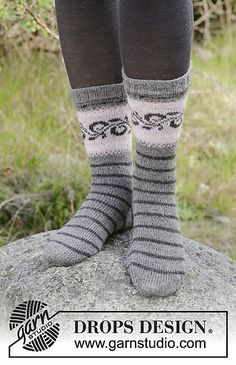 Ravelry: 179-11 Telemark Socks pattern by DROPS design