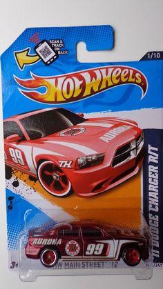 Hot Wheels 2012 Super Treasure Hunt Dodge Charger R/T Real Riders--Rare #HotWheels #Dodge