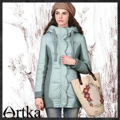 Artka®  Aka 2015 Women's New Premium Warm Winter Jacket / 90% White Duck Down ZK12146D  Retail: GBP £147.00    Promotion Price / GBP £97.00  Visit Our Ebid Store :       http://pierrette-new-store2.ebid.net/