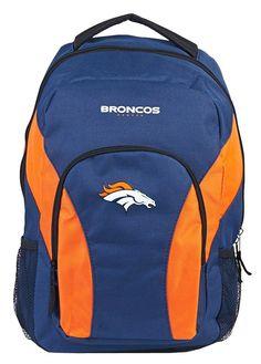 Denver Broncos Draft Day Navy Back Pack