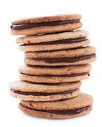 Hazelnut-Nutella Sandwich Cookies Recipe