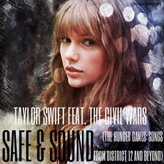 Taylor Swift Safe And Sound Cover Edit By Claire Jaques