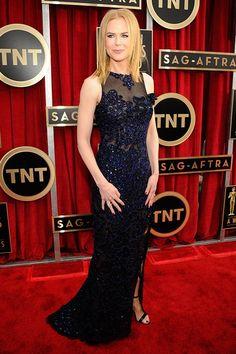 Nicole Kidman in Navy Blue