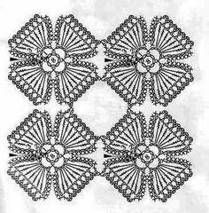 Crochet con amor: Que hermoso es este individual