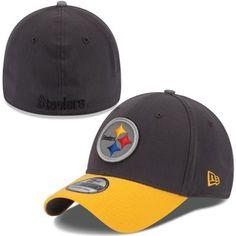 Mens Baltimore Ravens New Era Black 39THIRTY Camstyle Flex Hat