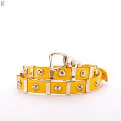 Tasha - Thắt Lưng Nữ - Màu Vàng Đậm & Màu Xanh - giảm giá 40% | KAY.vn