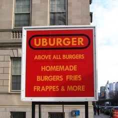 #FrenchFryFiesta nominee: UBurger