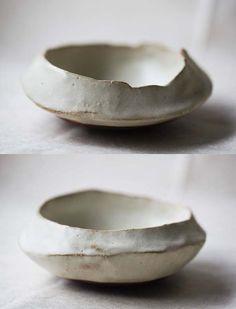 小皿を作ると大体この形になります。ぼくの定番です。