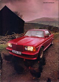 AMG Mercedes W123 Coupe