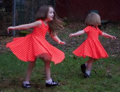 @5outof4patterns posted to Instagram: How adorable is this?! These dresses were both made with the Kids' Sydney Peplum and Dress pattern. This pattern is perfect for play dresses or holiday dresses! The twirl is the best! The Kids' Sydney features a fully lined bodice, multiple neckline options, 3 sleeve lengths, and multiple skirt options! Link in bio! #5outof4patterns #pdfsewingpatterns #5oo4 #pdf #isew #sewcialists #handmadewardrobe #sewing #sew #sewingproject #fabric #sewingforkids…