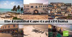 StudioMO Travels: The beautiful Cape Coast of Ghana Ghana, Taj Mahal, Cape, Travel Photography, Mansions, House Styles, Building, Blog, Beautiful