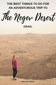 Amazing things to do in the Negev Desert including how to find the epic hiking trails, stunning canyons, rare wildlife and some of the best snorkelling in the world. #Israel #NegevDesert