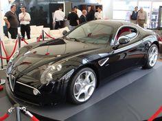 Black Alfa Romeo 8C Competizione